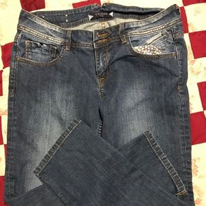 Vigoss Fit/Capri Jeans '31w 11/12